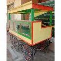 Wooden Food Cart, Capacity: 100- 120 Kg