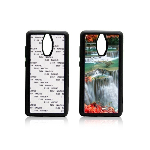 Plastic White and Black Sublimation Huawei 2D Mobile Cover