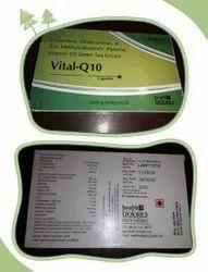 Healthbiologics Vital Q10 Capsules, 1*10