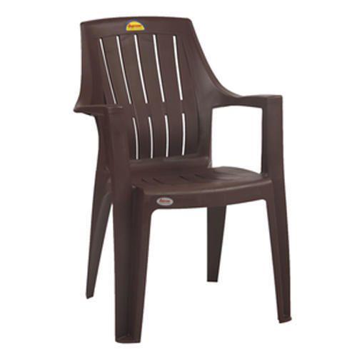 Black Turbo Super Plastic Chair