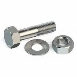 Metal Coated Stainless Steel Nut Bolt Washers, Packaging Type: Box