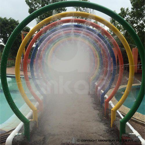 Kids Slide Rainbow Water Park Equipment Manufacturer