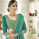 Fancy Embroidery Georgette Saree