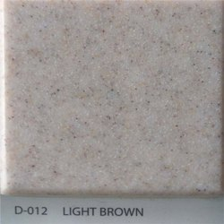 Light Brown Acrylic Solid Surface