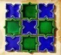 Handmade Star-Cross Tile