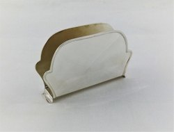 Pure Silver Plain Napkin Holder