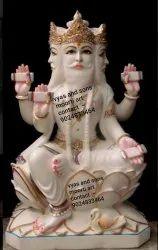 Marble Brahma Moorti