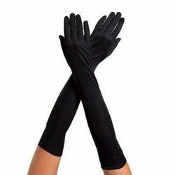 Black Full Sleeve Gloves