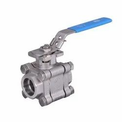 PVC Three Piece Ball Valve