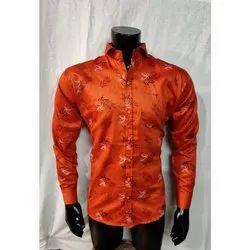 Satin Party Wear Mens Fancy Shirt, Size: L, XL. XXL, Pockets: Single Pocket