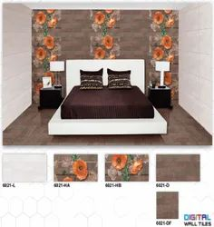 6021 (L, HA, HB, D, DF) Hexa Ceramic Digital Wall Tiles