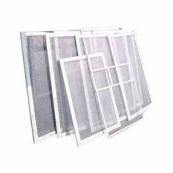 White Aluminium Gril Window
