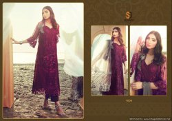 Textilemall Present Shraddha Erwann Faux Georgette Pakistani Suits Collection