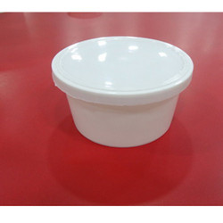 Milky White PP Round Container