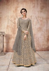 Pr Fashion Launched Beautiful Heavy Designer Floor Length Suit