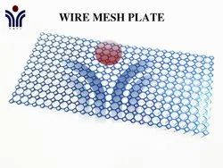 Stainless Steel & Titanium Wire Mesh Plate, Thickness: 0.6mm, Pmpl