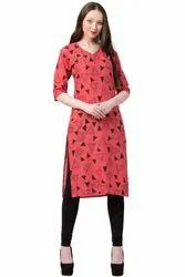VFLK-41A Daily Wear Printed Kurti in Jaipuri Print