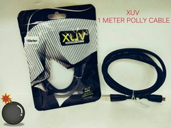 Black Data Cable, XUV 1MTR