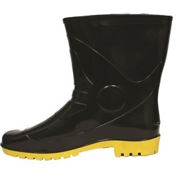 Black and Yellow Safety Gumboot