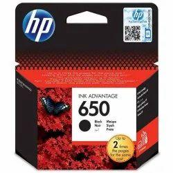 Hp 650 Black Ink Cartridge.