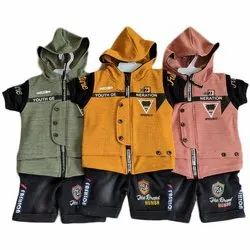 Cotton Casual Wear Kids Baba Suit, S,M, Age: 0-6 Year