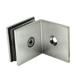 Stainless Steel Glass Shower L Connector