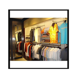 Wall Panel Garments Display