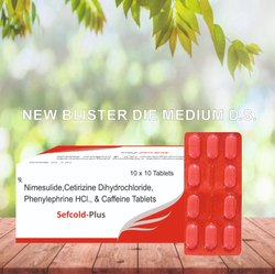 Nimesulide Cetirizine Duhydrochloride Phenylephrine HCL Caffeine Tablets