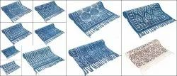 Cotton Bed Table Runner