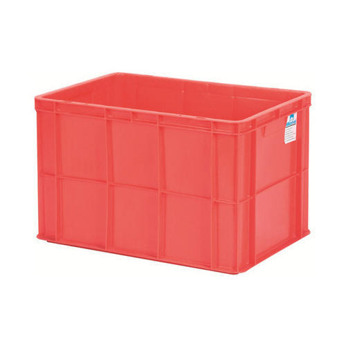 Rectangular Polystyrene (PS) Plastic Storage Crate, Capacity: 20-50 Kilogram