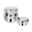 Round Stainless Steel Container