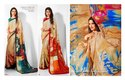 DESIGNER CREPE SAREE FOR WOMEN