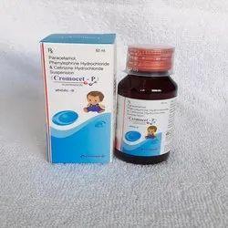 Paracetamol, Phenylephrine Hydrochloride & Cetirizine Hydrochloride Suspension
