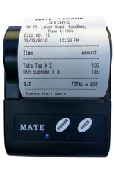 Mate Bluetooth Portable Wireless Printer, Model Number: MPT-2, Model Name/Number: 2INCH