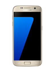 Gold Samsung Galaxy S7