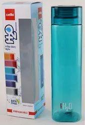 Cello Plastic Water Bottle H2o Squaremate 500ml Multicolour