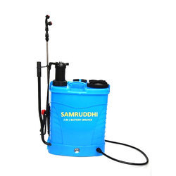 2 IN 1 Manual Battery Operated Sprayer