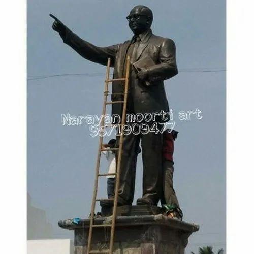 Black Bhim Rao Ambedkar Statue