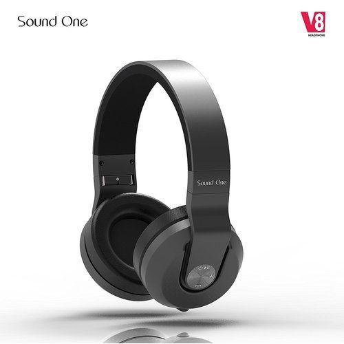 bd8527e634d Black Sound One V8 Bluetooth Headphones With Mic, Rs 1790 /piece ...