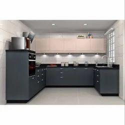 Designer U Shape Modular Kitchen