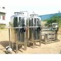 Mineral Water Treatment Ro Stainless Steel Water Treatment Plant