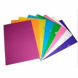 Plastic L Type File Folder