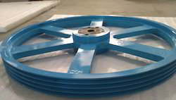 0.5 And 1 Ton Industrial Pulley, Standard Lift: V- Belt Pulley