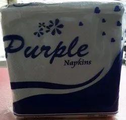 Purple Paper Napkin