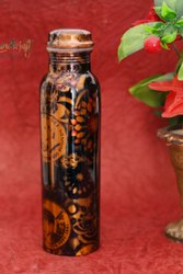 HHI Standard Printed Copper Bottle of 950 ML