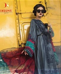 Designer Pakistani Suit Deepsy-Maria B Winter