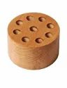 Round Curator Block with Eight Holes