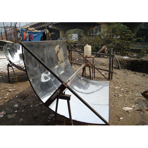 Parabolic Trough Solar Collector Water Heater: Solar Parabolic Trough For Water Heater, Feaster India