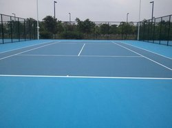 Outdoor Badminton Court Flooring Service