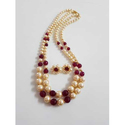 Pearls Party Artificial Necklace Set